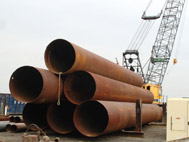 Steel Caissons: New and Used Steel Caisson Pipe